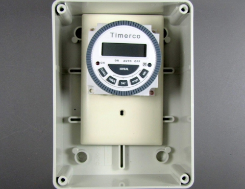 Tm619 24 Hour Weekly Timer In Thermoplastic Enclosure 24 7 Timers